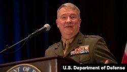 ژنرال کنت مککنزی رئیس فرماندهی مرکزی ارتش آمریکا، سنتکام
