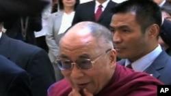 西藏流亡精神領袖達賴喇嘛(資料圖片)