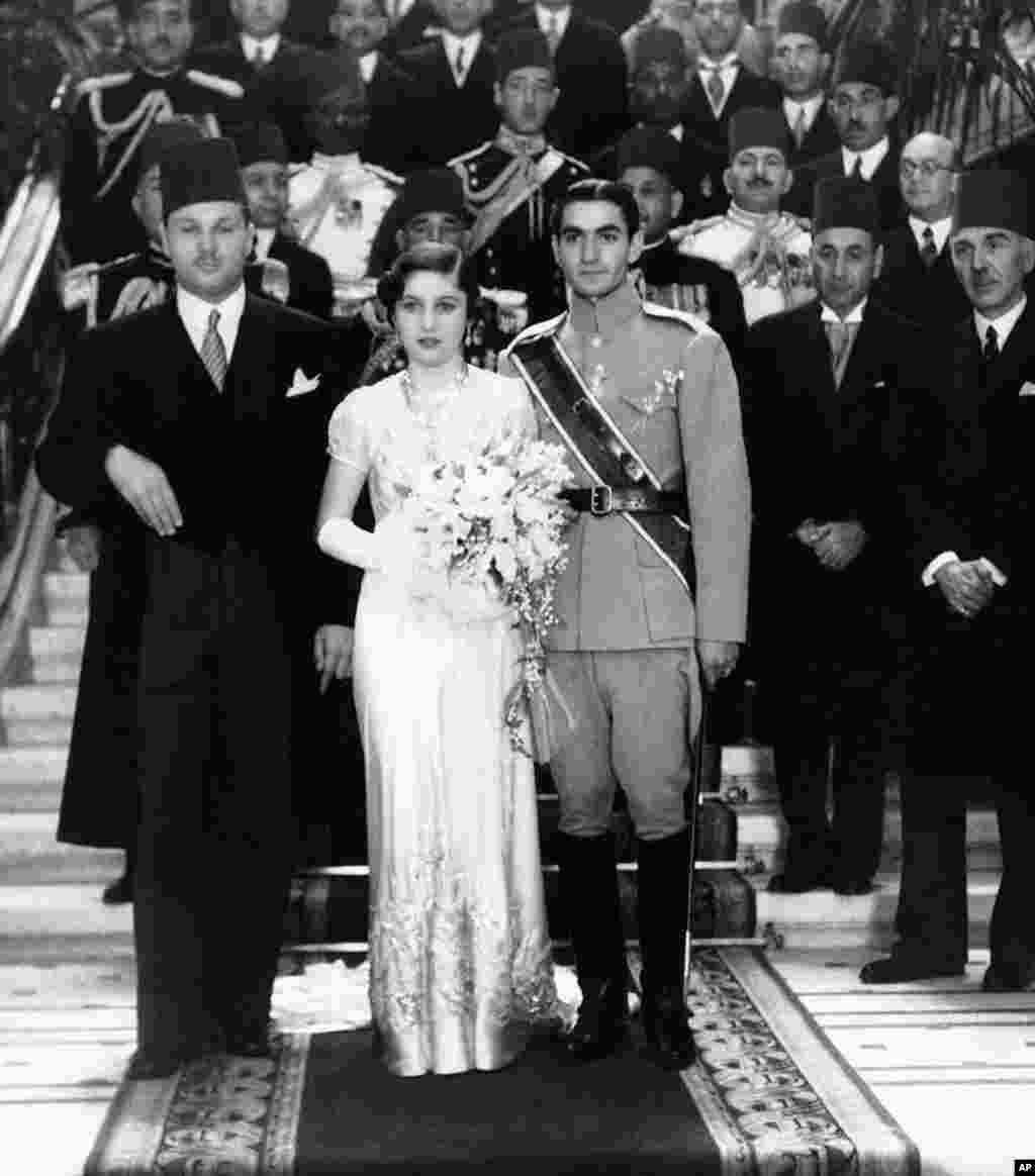 امروز در تاریخ: سال ۱۹۳۹ – ازدواج شاهزاده محمدرضا پهلوی با فوزیه، شاهدخت مصر در قاهره.
