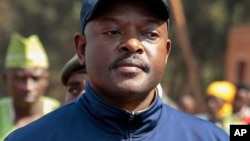 Shugaban Burundi Pierre Nkurunziza
