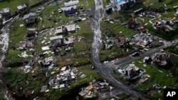 波多黎各受颶風瑪麗亞重創