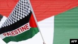 Un drapeau palestinien. Source: AFP