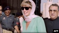 شہزادی ڈیانا 1991 میں بھی پاکستان آئیں تھیں۔ (فائل فوٹو)