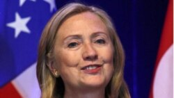 La secretaria de Estado, Hillary Clinton, representó a EE.UU. en la toma de mando de Dilma Rousseff en 2010.