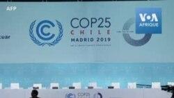 COP25- adoption d'un accord a minima