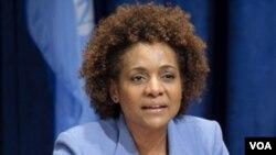 Anvwaye Espesyal UNESCO ann Ayiti a, Michaelle Jean.