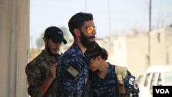 Raqqada ABŞ-ın başçılığı ilə koalisiyanın dəstəklədiyi kürd və ərəb döyüşçülər əməliyyat keçirir