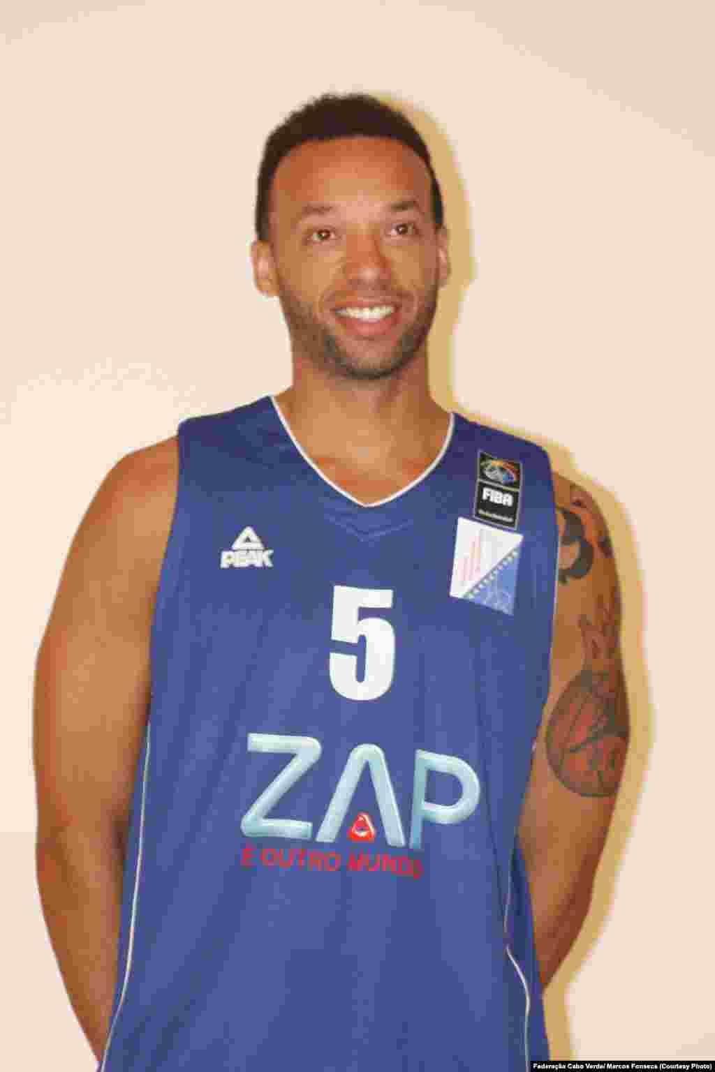 Jeff Xavier, selecção de basquetebol Cabo Verde.