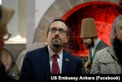 John Bass, ambassadeur américain en Turquie.