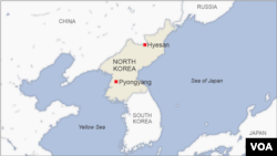 Hyesan, North Korea
