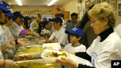 یوم تشکر پر پسماندہ افراد کےلیے طعام کا انتظام
