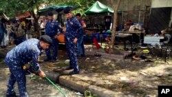 ده غیرنظامی و چهار پولیس در جمع کشته شدهگان این حمله اند