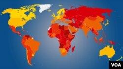 """شفافیت بین المللی هر سال گزارشی را زیر نام """"برداشتهای فساد در جهان"""" نشر میکند"""