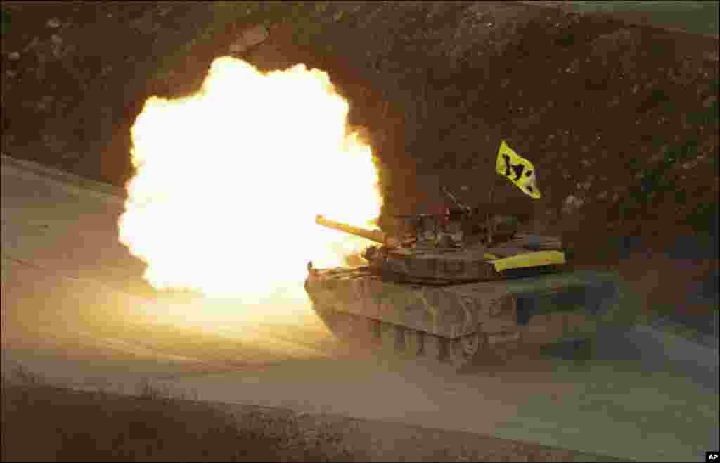 جنوبی کوریا کی جنگی مشقیں