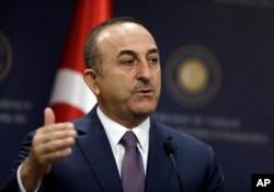 土耳其外交部长梅夫吕特·恰武什奥卢