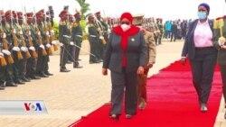 Rais wa Tanzania Samia aahidi kuimarisha uhusiano na Burundi