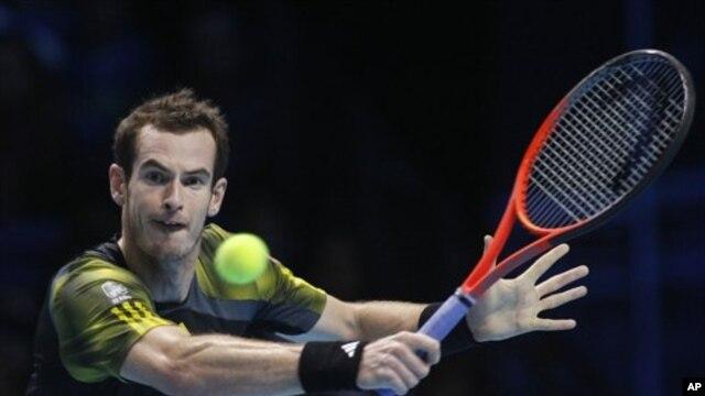 Andy Murray, memastikan tahun 2012 merupakan tahun terbaik dalam karirnya setelah meraih gelar juara di Flushing Meadows dan medali emas Olimpiade London (Foto: dok).