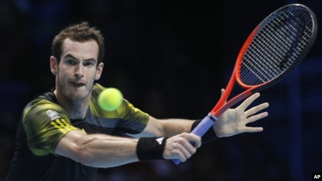 Andy Murray maju ke final Australia Terbuka setelah mengalahkan Roger Federer dalam lima set (foto: dok).