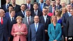 Učesnici samita u Parizu