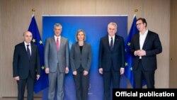 Nga takimi Kosovë Serbi më 24 janar 2017