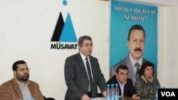 Tofiq Yaqublunun Müdafiə Komitəsinin toplantısı