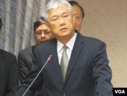 台湾陆委会主委夏立言 (美国之音张永泰)