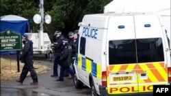 Учения британского подразделения по борьбе с терроризмом