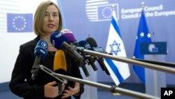 Представниця ЄС у зовнішніх справах Федеріка Моґеріні заявила, що позиція Європи незмінна