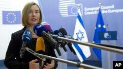 فېډرېکا موغېريني ويلي د ټولو يورپي هېوادونو دريځ دی چې يروشلم دې يواځې د اسرايل پلازمينه نه وي