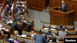 Заседание Верховной Рады Украины (архивное фото)