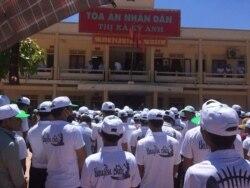 Dân Việt khởi kiện tập thể chống lại Formosa