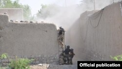 North Waziristan Clearance of a terrorists hideout in Mirali