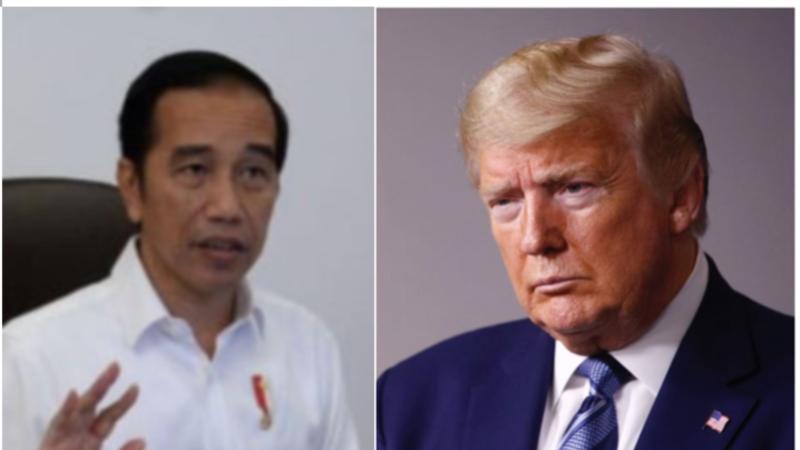 Trump Berbicara dengan Jokowi soal Tanggapan terhadap COVID-19
