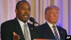 Ben Carson wanda ya fafata da Donald Trump a zaben fidda gwani na jam'iyyarsu ta Republican
