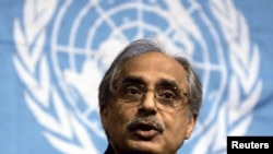 UN envoy Vijay Nambiar