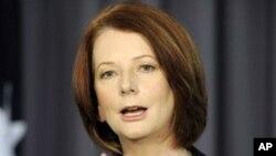 澳大利亞總理吉拉德(資料圖片)