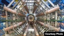 FILE - The Large Hadron Collider at the European Organization for Nuclear Research. (Credit: CERN)