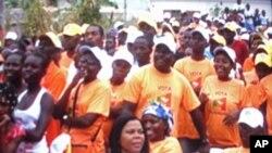 Campanha Eleitoral em São Tomé, 2010 (Arquivo)