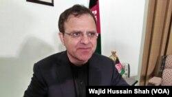 پاکستان کے لیے افغان سفیر عمر زخیلوال، فائل فوٹو