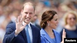 Le Prince William et son épouse Catherine, la Duchesse de Cambridge, Berlin, le 19 juin 2017