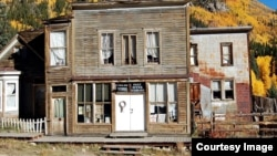 The old post office and general store in the once thriving mining community of St. Elmo, Colorado, which is now a ghost town. (Photo courtesy of Geotab)