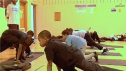Yoga Added to Elementary School Lesson Plan