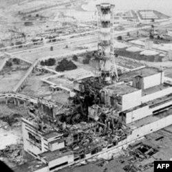 Arhivski snimak nuklearke Černobil nakon havarije