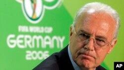 Franz Beckenbauer, cựu thủ lĩnh đội Bayern Munich, làm chủ tịch của ủy ban tổ chức World Cup 2006. (Ảnh tư liệu)