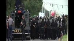 美國多處繼續抗議非洲裔美國人被警察打死