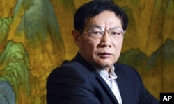 资料照:中国退休房地产大亨任志强