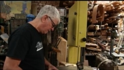 Luthier Turns Wood from New York Landmark Buildings into Guitars