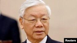 Tổng bí thư-Chủ tịch nước Nguyễn Phú Trọng.