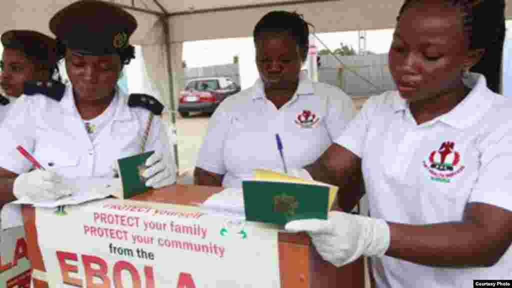 Cutar Ebola a Najeriya.