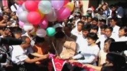 昂山素季证实将参加缅甸议会选举